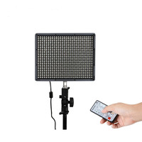 AL HR672C Professional Double Power Supply System LED Video Light CRI95+ 3200 5500K Photo Light LED Camera Photography Lighting