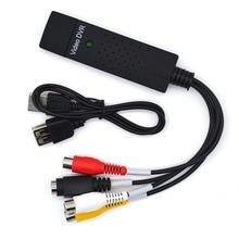 JZYuan USB 2,0 Easycap видео ТВ тюнер DVD Аудио Захват карты конвертер запись приемник Аудио Видео карта адаптер для Win7/8/XP