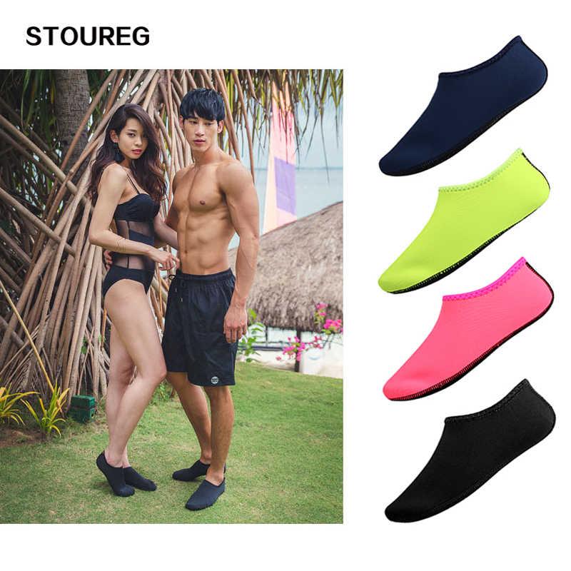 Yaz su ayakkabısı Erkekler Kadınlar Yüzme Ayakkabı Aqua plaj ayakkabısı Sahil Erkekler Için Spor Ayakkabı zapatos hombre