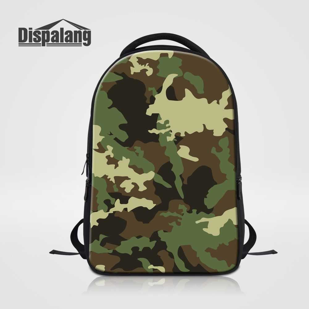 Dispalang Men Outdoors Knapsack Camouflage Patterns Multifunctional Travel Laptop Bags Middle School Backpacks Male Rucksack Sac