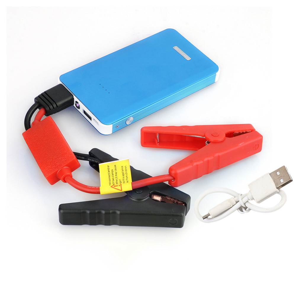 Multifunction 30000mAh Car Jump Starter Mini Emergency Charger Battery Booster Power Bank Jump Starter for Car Phone Colorful for petrol 6 0l car jump starter 30000mah 12v battery charger for laptop power bank with led light