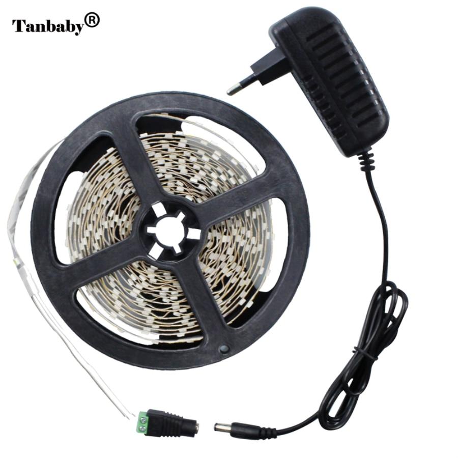 Tanbaby 5m 3528 Not Waterproof Flexible Led Strip Light 60led M For Home Decoration Light 12v