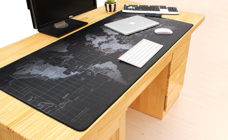 Original New Super Large 800 500 3MM China Map Mouse Pads Anti Skid Keyboard Laptop Computer