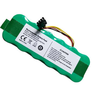New 14.4V NI-MH Rechargeable Battery Pack 3500mAh Vacuum Cleaner use for Ecovacs Mirror CR120 Dibea X500 X580 kk8 Sweeping Robot