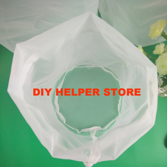 45*30cm food grade home brew beer mash filter bag for batch homebrew filter bag bucket 5 gal can be customized