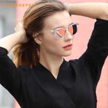 LongKeeper Luxury HD Polarized Men Women Driving Sunglasses Hot Vintage Brand Designer Coating UV400 Top Male Sun Glasses