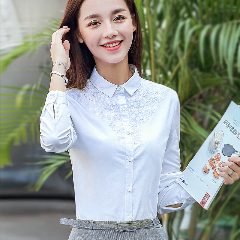 Popular Ladies Classic White Shirt-Buy Cheap Ladies Classic White ...