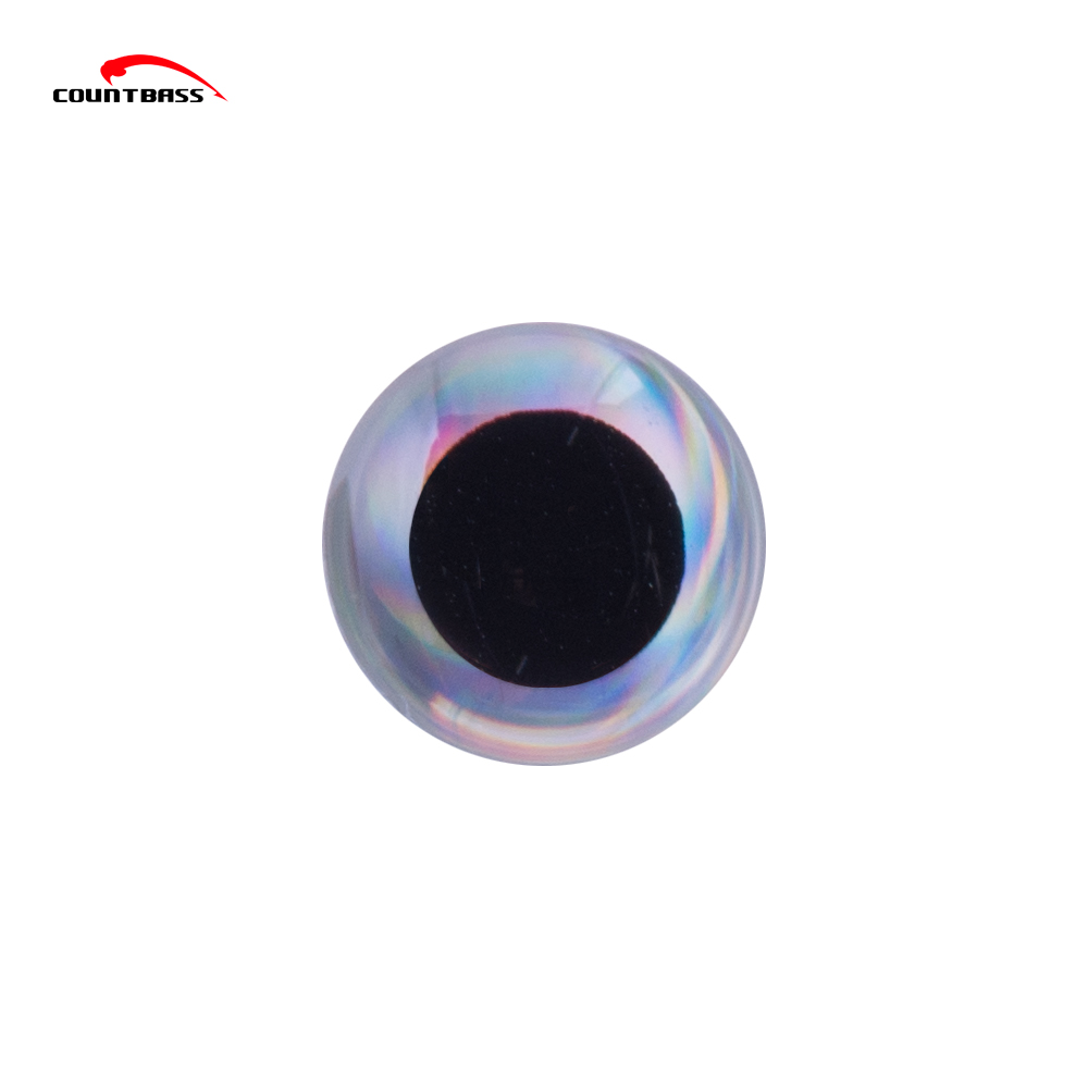 800~1000pcs Sliver Molded 3D Fishing Lure Eyes for Blank Hard Lures, Size 3.5 4.0 4.5 5.0 5.5 6.0 6.5 7.5 8.0mm Tackle Craft