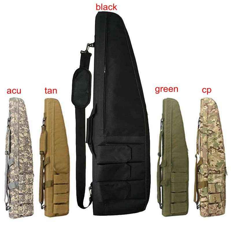 في الهواء الطلق الصيد بندقية حقيبة Airsoftsports التكتيكية بندقية بندقية حمل Airsoft مسدس هواء الألوان بندقية حماية النايلون حقيبة حوالي 98 سنتيمتر