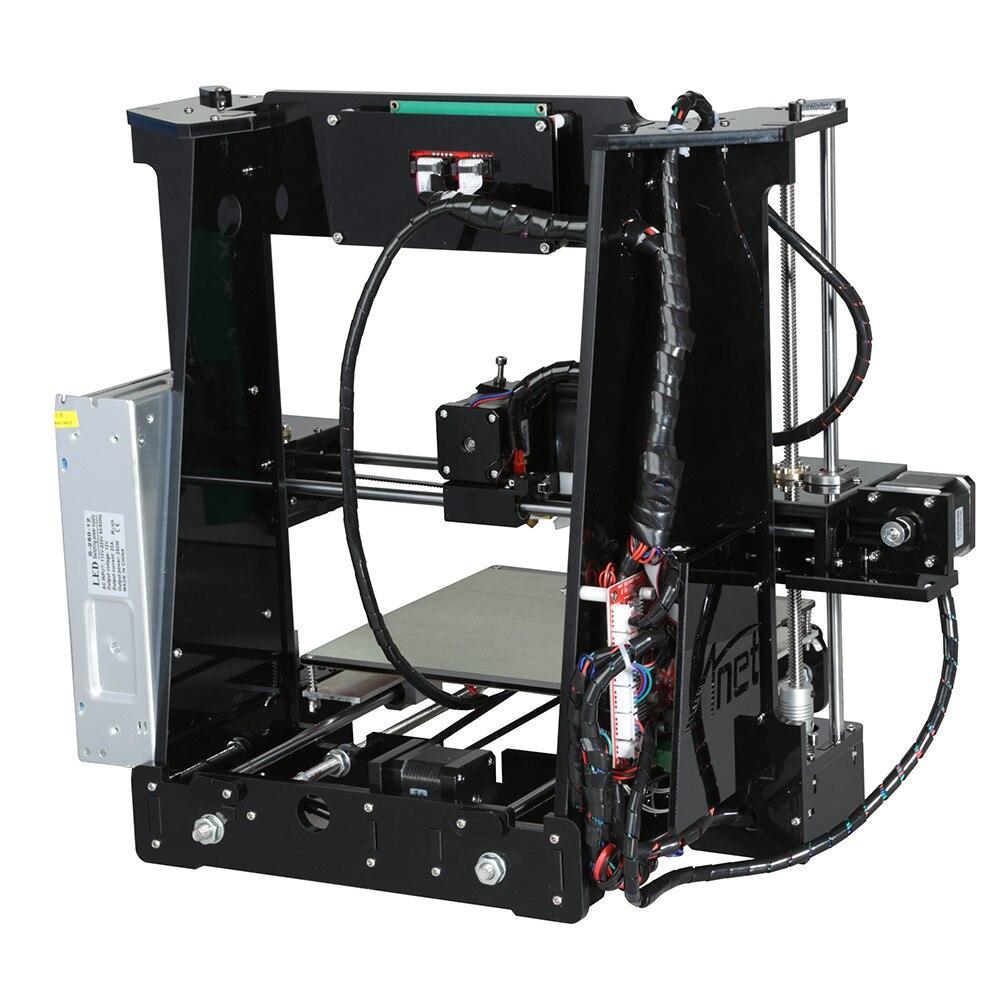 Pas cher Anet E10 A6 Impresora 3d imprimante Haute précision Reprap Prusa i3 3D Imprimante DIY Kit Hors-ligne D'impression avec PLA Filament - 6