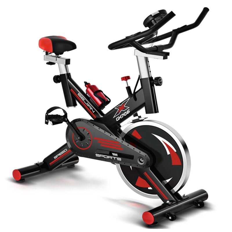 Haute qualité intérieure vélo vélos d'exercice à domicile vélo ultra-silencieux indoor sports fitness equipment 250 kg charge vélo De Filage