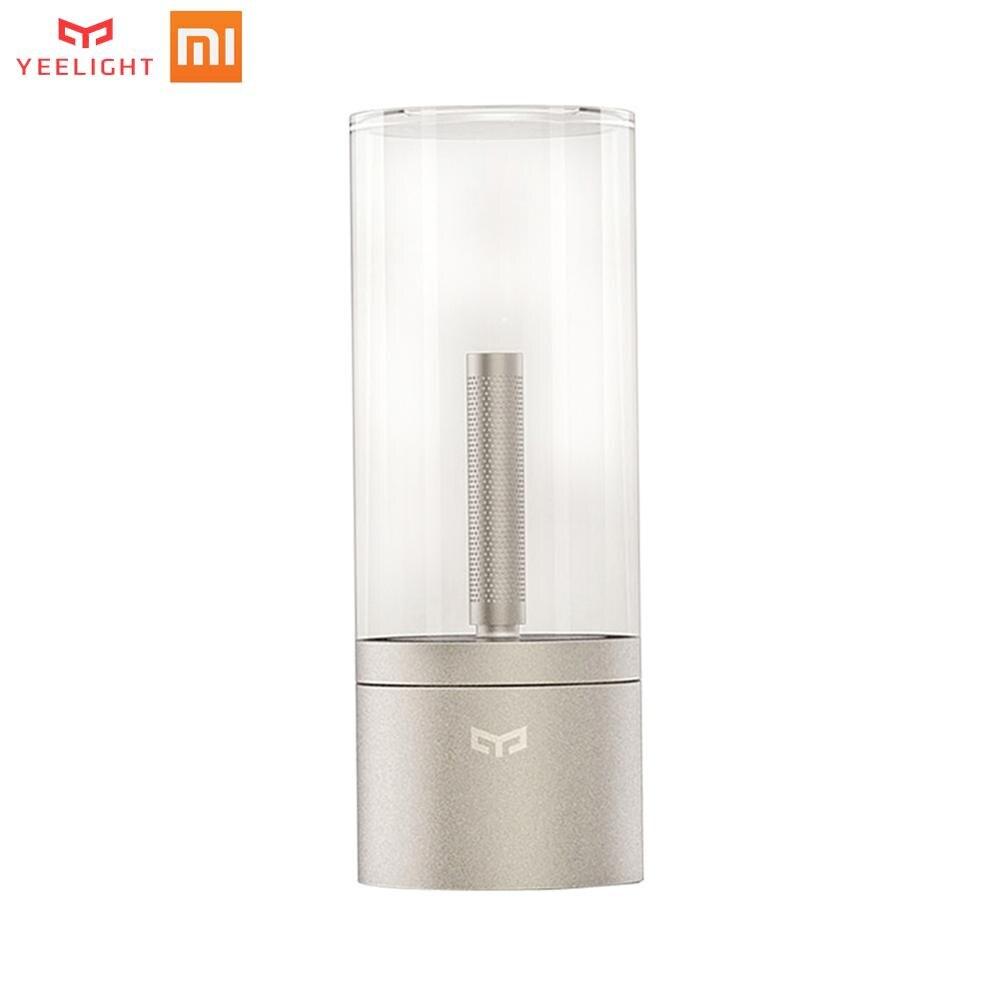 Xiao mi Yeelight Candela contrôle intelligent led veilleuse, lumière d'ambiance pour mi home app pour Xiao mi kits maison intelligente offre spéciale