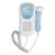 2017 Recién Llegado de LCD Pocket Fetal Doppler Cardíaco Fetal Doppler Cardíaco Prenatal Bebé Monitor de Sonido 3 MHz Sonda