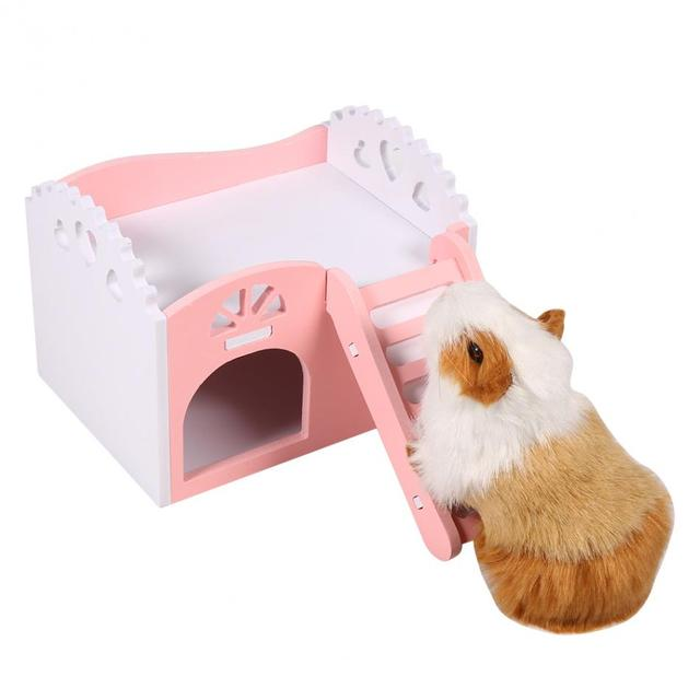 3 Colors Pet cages for Hamster Rat Guinea Pig Small Animal Castle Sleeping House Nest Exercise Toy hamster cage pet hammock