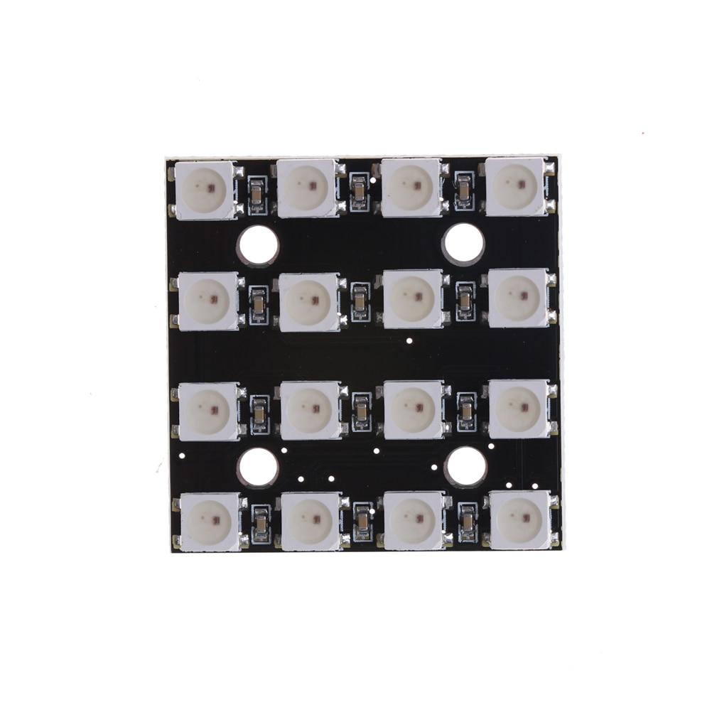 1 X Rgb Led 4x4 16-bit Ws2812 5050 Rgb Led + Integrierte Treiber Für Arduino Hohe Qualität