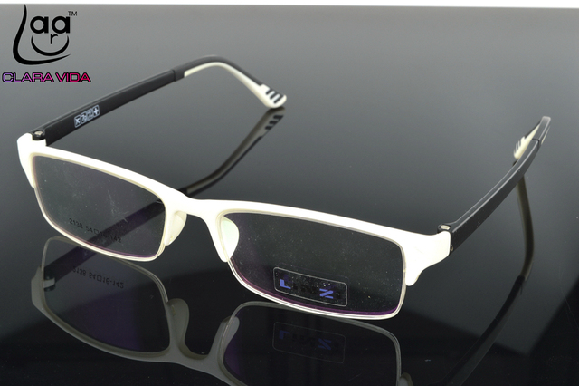 1f5c5f7559c ONLY 7G   TR90 Ultra Light Designer Glasses Frame white Custom Made Optical  Prescription myopia