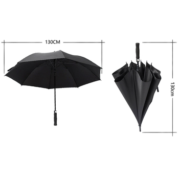 umbrella 8 bone High quality long handle semi-automatic windproof golf umbrella parasol free shipping sale 50RR321