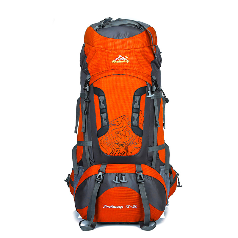 Sac à dos de Camping de randonnée de grande capacité 80L en plein air sac à dos de randonnée Treval spécialisé sac de pêche d'escalade étanche Sporst