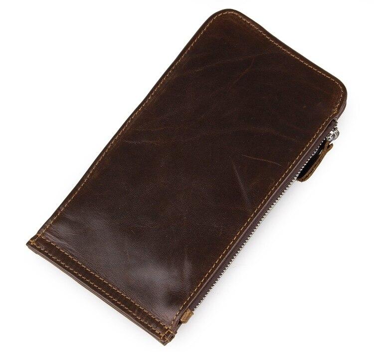 JMDVintage Real Leather Men's Wallets Purse Credit Card Holder ID Card Case 8034C-1