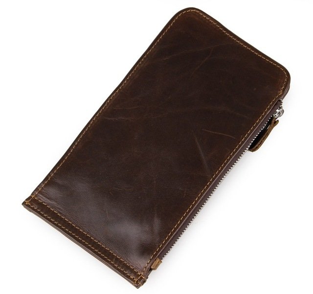 JMDVintage Real Leather Men's Wallets Purse Credit Card Holder ID Card Case 8034C-1