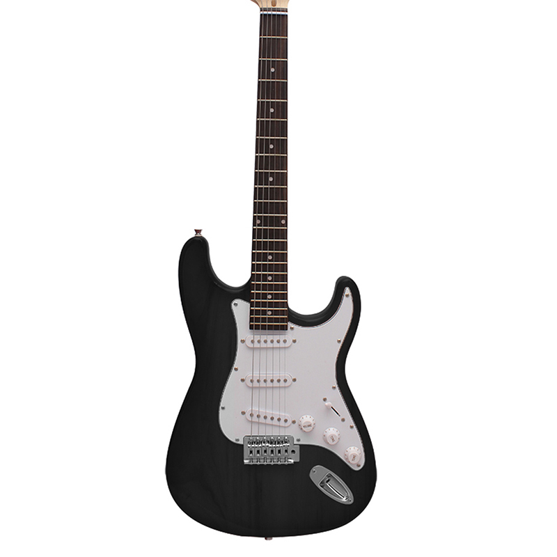 NEW 39 Inch ST Guitar Black 6 Strings Electric Guitar Rosewood Fingerboard Stratocaster Musical Instruments Professional Violao