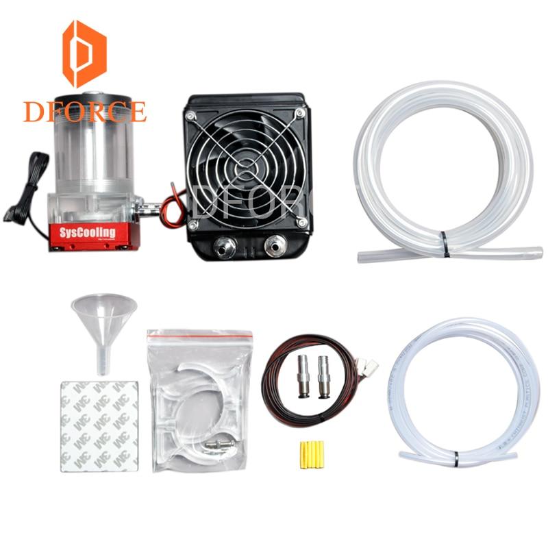 Dforce trianglelab Titan AQUA Water Cooling Kit for DIY 3D printer for E3D Hotend Titan Extruder for TEVO 3D printer Upgrade KIT