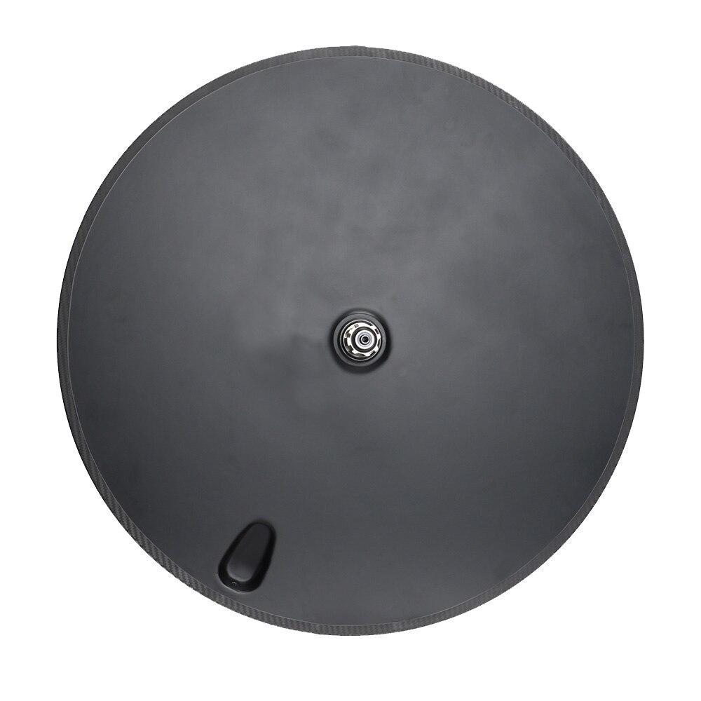 Roue à disque en Fiber de carbone 700C pneu/roues de vélo de route arrière tubulaires roues arrière à engrenages fixes