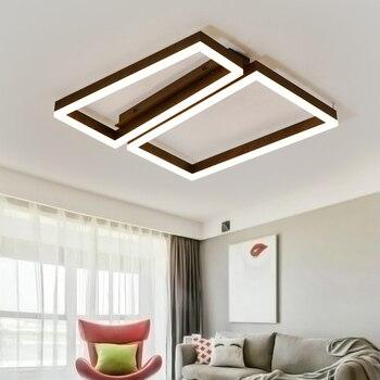Decke Moderne LED kronleuchter lichter für esszimmer schlafzimmer braun Moderne kronleuchter AC85-260V hause beleuchtung lampadario luminaria