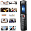 Car-styling 8GB Steel Stereo Recording Mini Digital Voice Recorder Audio Recorder MP3 player