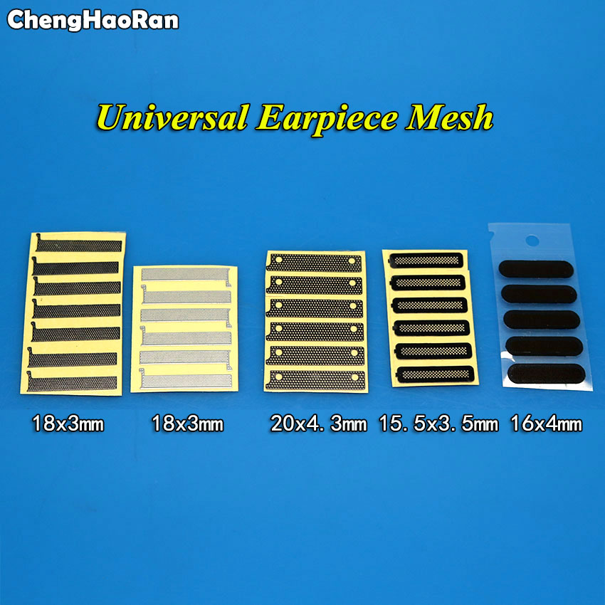 ChengHaoRan 10pcs Universal Ear Mesh For All China Smartphone Brands Adhesive Ear Speaker Earpiece Anti Dust Screen Mesh