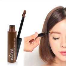 Professional 4 Colors Eyebrow Mascara Cream Eye Brow Shadow Maquiagem Set Kit Waterproof Dye Eyebrow Gel
