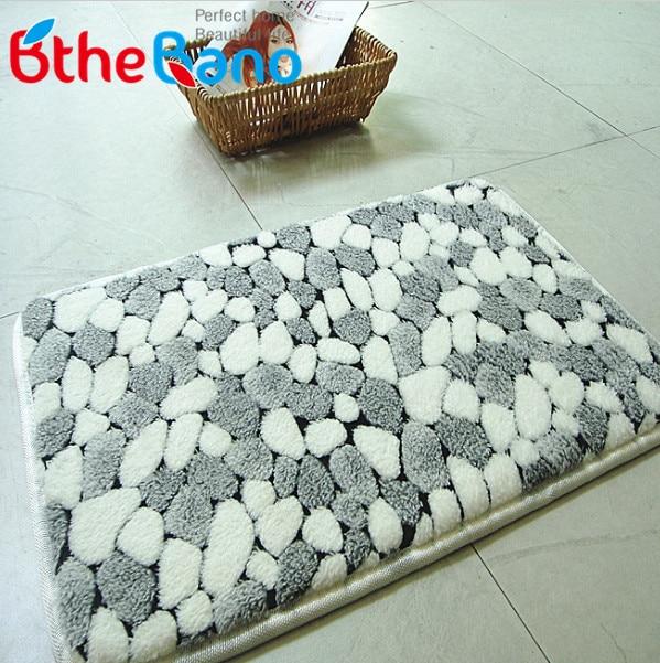 New Pattern C Bath Mat Rug Pebble Bathroom Carpet Absorbent Designer 12designs In Mats From Home Garden