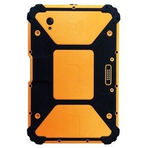 Image 1 - 8 cal Android 7.1 wytrzymały Tablet PC z 8 rdzeń procesora, 2 GHz pamięć Ram 4 GB Rom 64 GB With2D skaner kodów kreskowych 10000 mAh