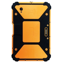Tableta PC resistente Android 7,1 de 8 pulgadas con CPU de 8 núcleos, 2GHz Ram 4GB Rom 64GB con escáner de código de barras 2d 10000mAh