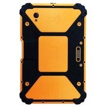 Tablette PC robuste Android 7.1 de 8 pouces avec processeur 8 cœurs, 2 GHz Ram 4 GB Rom 64 GB With2D Scanner de codes à barres 10000 mAh