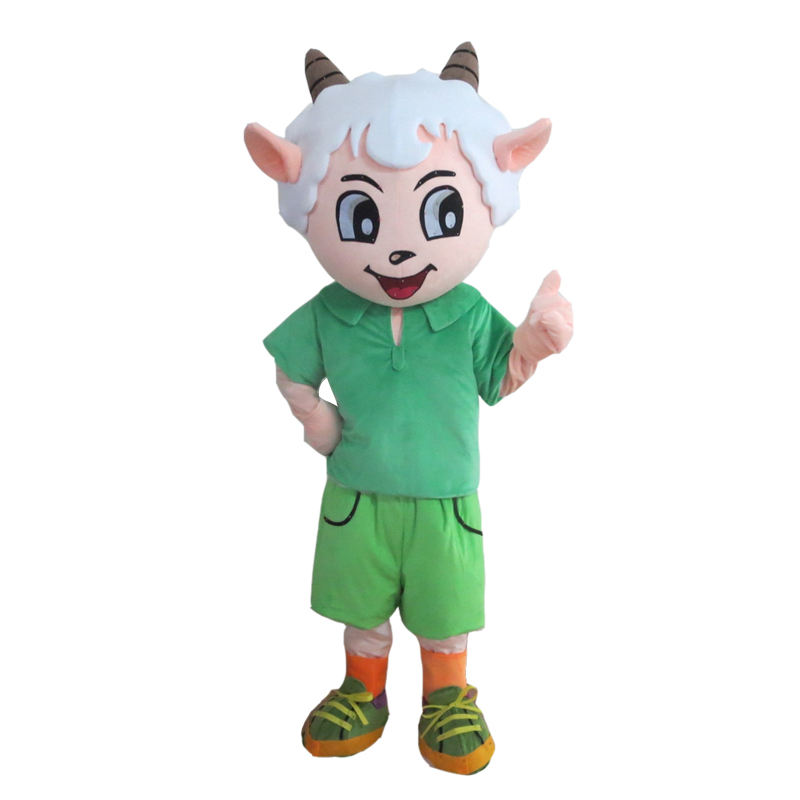 Anime Pleasant Sheep Costume Cosplay Outfits Adult Women Men Cartoon Mascot costume For Carnival Festival Commercial Activity