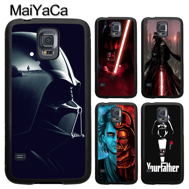 MaiYaCa Darth Vader Star Wars Case For Samsung Calaxy S4 S5 S6 S7 Edge Note 8 Note 5 Note4 TPU Case For Samsung S8 S9 Plus Cover