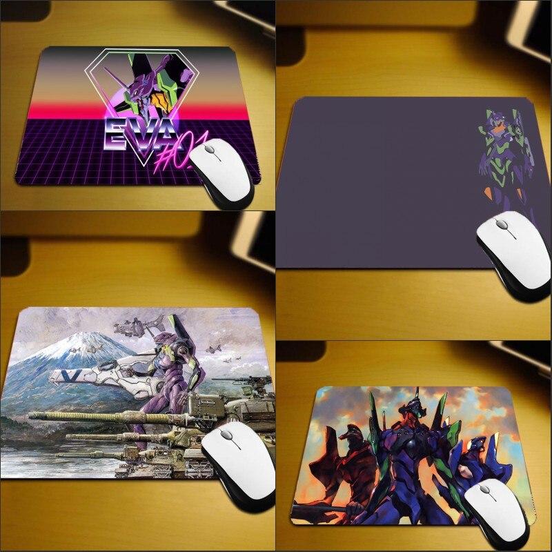 Mairuige 220x180x2MM EVA NEON GENESIS EVANGELION Anti-skid Rubber Wear Soft Mousepad Mini Size Table Top Pc Gaming Mouse Pads