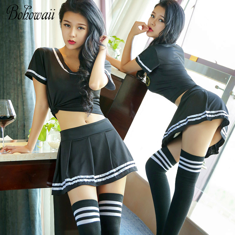 Top 8 Most Popular Sexi School Uniform Ideas And Get Free Shipping