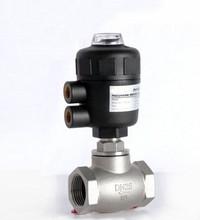 1/2 «2/2 способ пневматический клапан управления глобус угол сиденья клапан нормально закрытый 40 мм PA привод