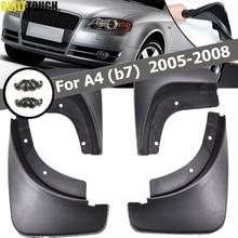 Błotniki samochodowe dla Audi A4 B7 2005   2008 błotniki błotniki błotniki błotniki błotnik 2006 2007 akcesoria samochodowe