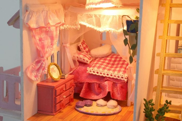 13007 DIY doll house gift (5)