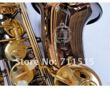 SUZUKI Shipping EMS Genuine Alto Saxophone Professional Saxophone Surface Electroplating Black Nickel Gold Paint