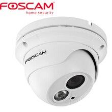 Foscam FI9853EP חיצוני P2P HD PoE כיפת IP המצלמה 720 p HD מצלמה IP H.264 CCTV מצלמה