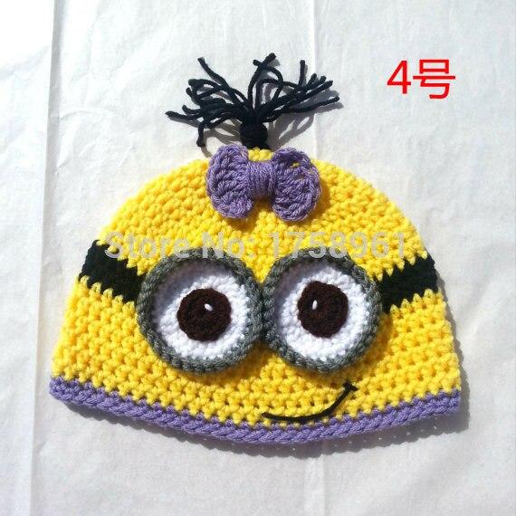 Crochet Minion Hattoddler Costumegirls Clothingchristmas Gifts