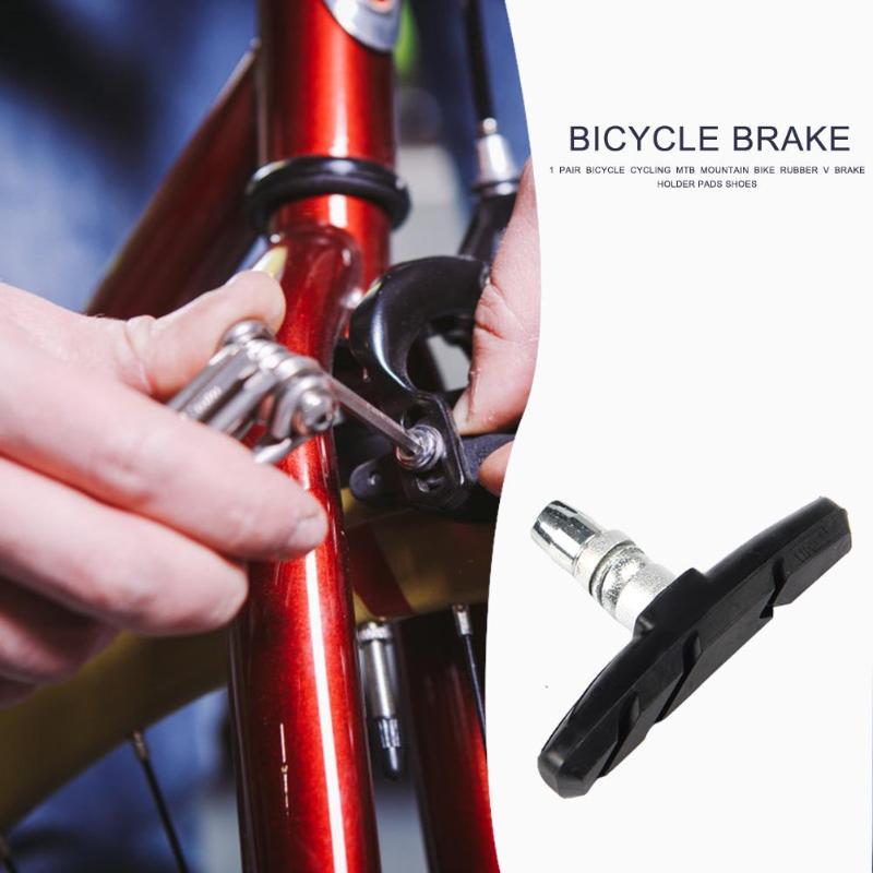 Pads Blocks Cycling Rubber Mountain Braking Shoes V-Brake Brake Bike Bicycle