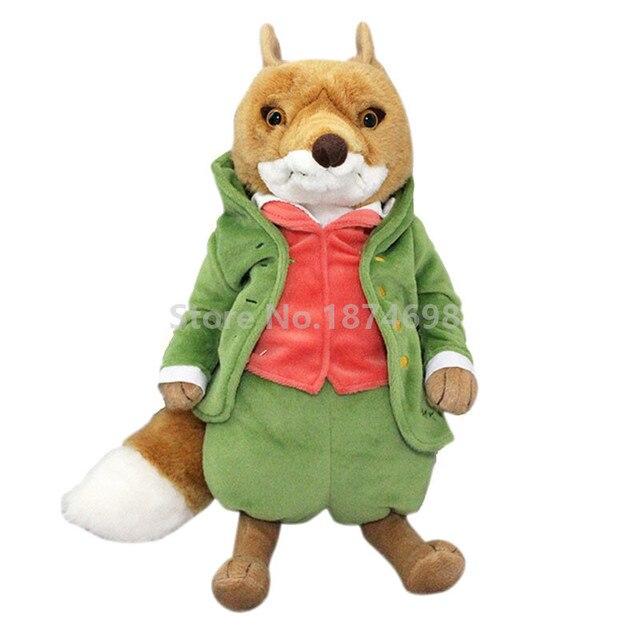 555b4f9549c New Peter Rabbit Mr Tod Fox Plush Toy Large 32cm Cute Stuffed Animals Soft  Kids Baby Preferred Toys Dolls Gifts