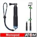 Extensível handheld vara telescópica monopé tripé para gopro hero 4 sj4000 sj5000 f60 eken h3 h8 h9