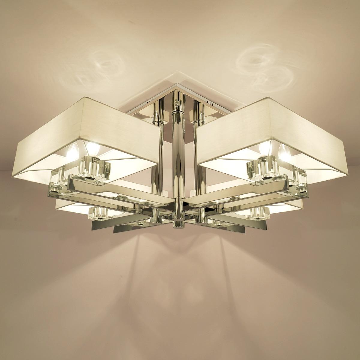 LED-Schlafzimmer Kronleuchter aus Kristall Laterne ...