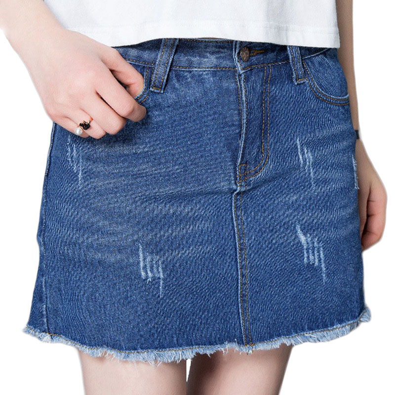 Compare Prices on Short Blue Jean Skirts- Online Shopping/Buy Low ...